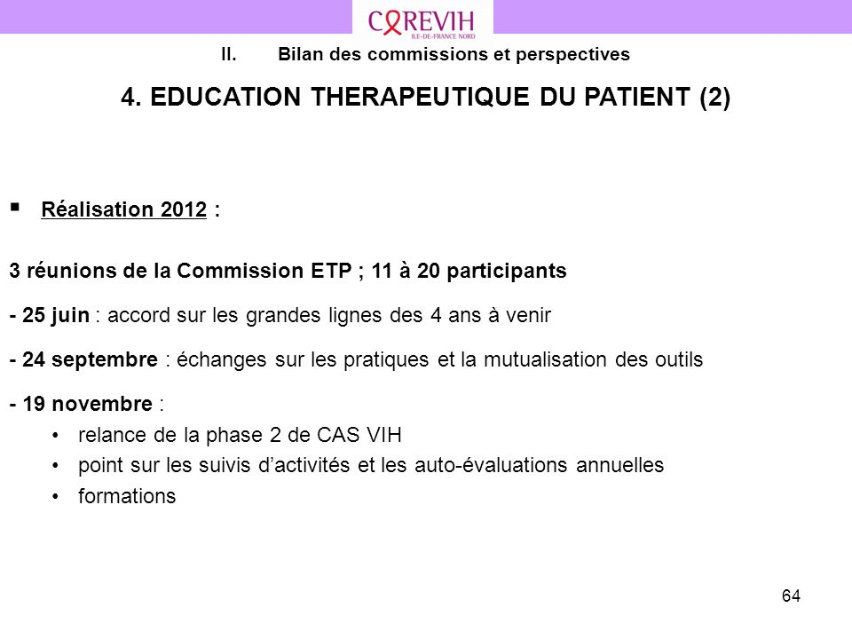 4. EDUCATION THERAPEUTIQUE DU PATIENT (2)