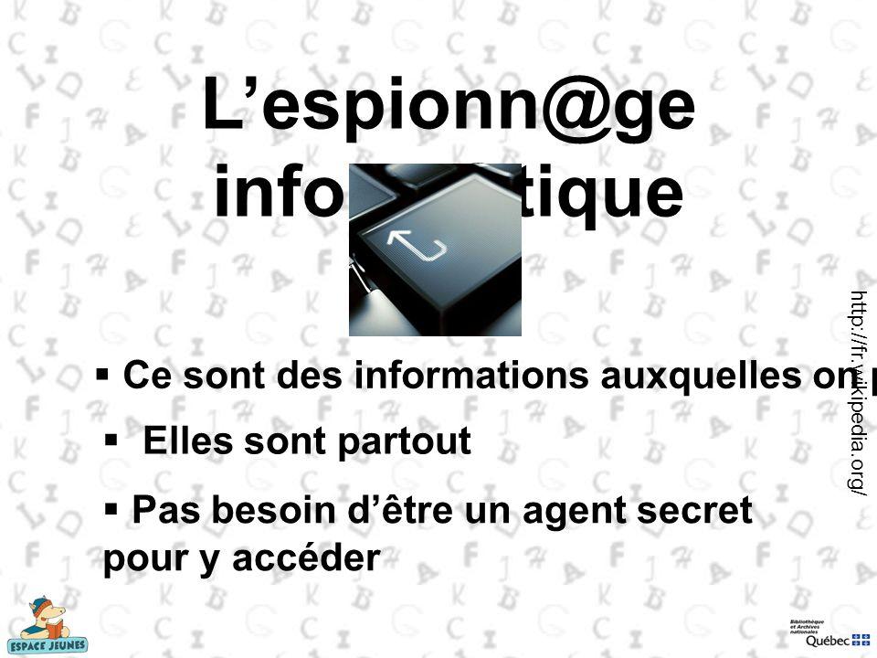 L'espionn@ge inform@tique
