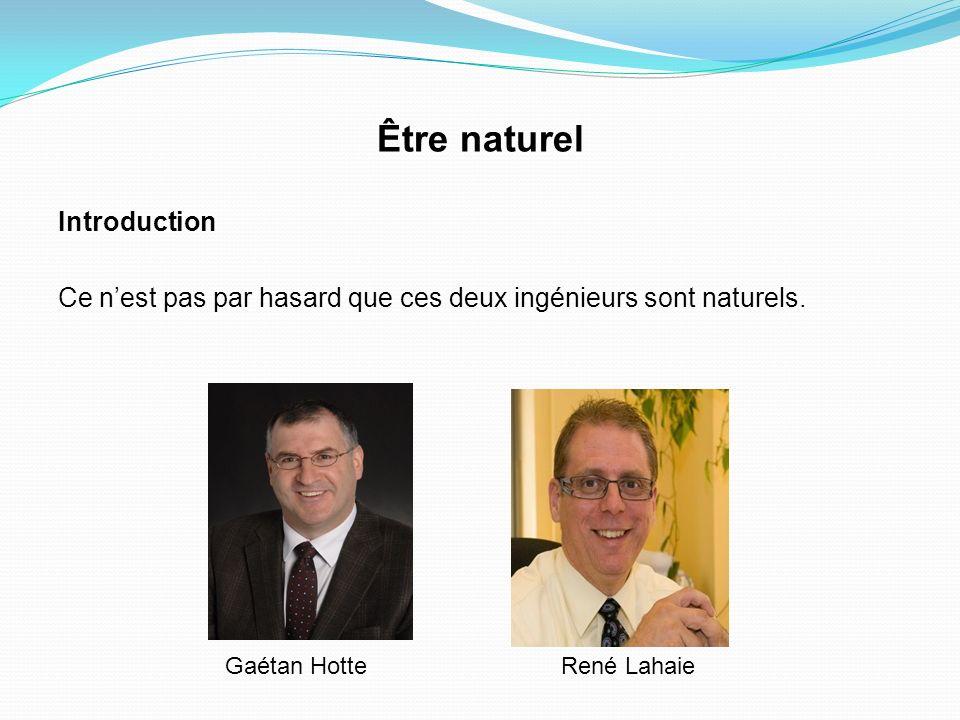 Être naturel Introduction