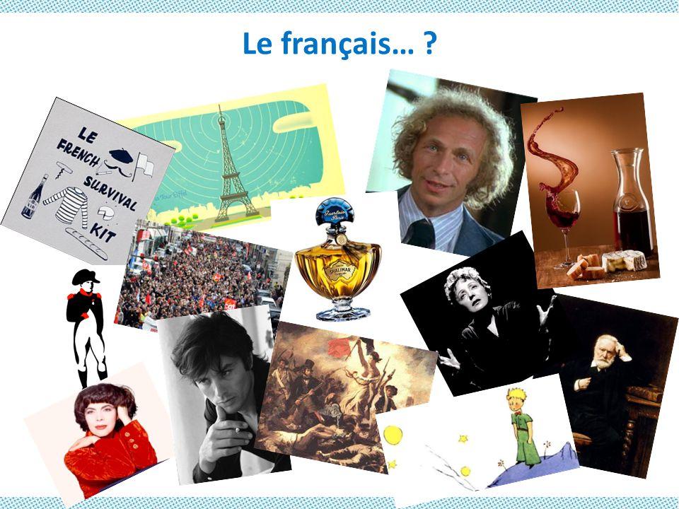 Le français… Heuristique du grec eurisko Je trouve