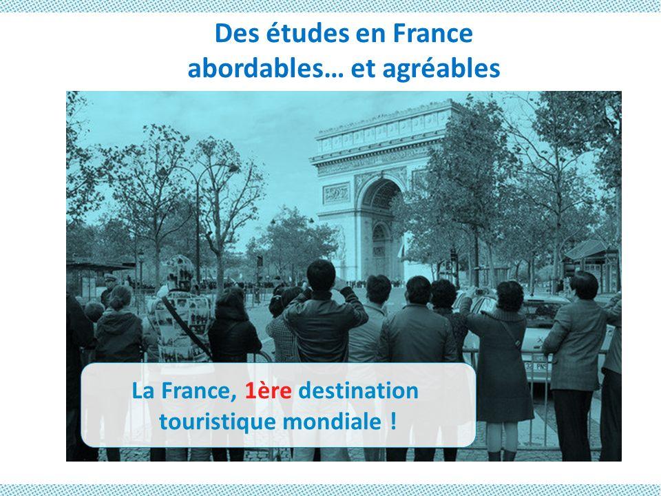 abordables… et agréables La France, 1ère destination