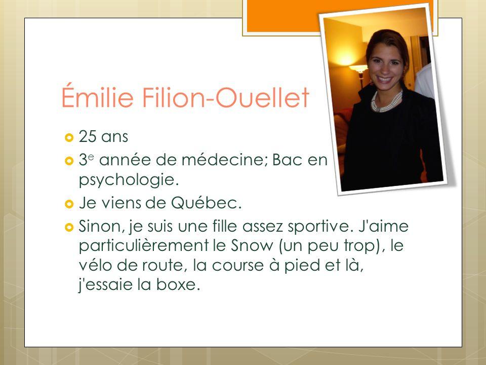 Émilie Filion-Ouellet