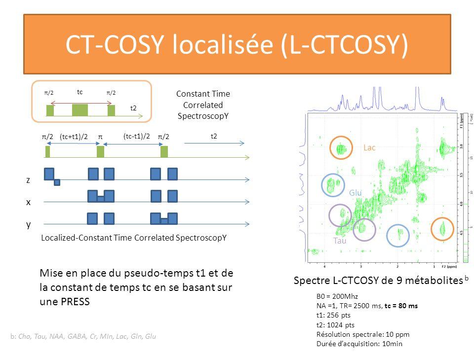 CT-COSY localisée (L-CTCOSY)