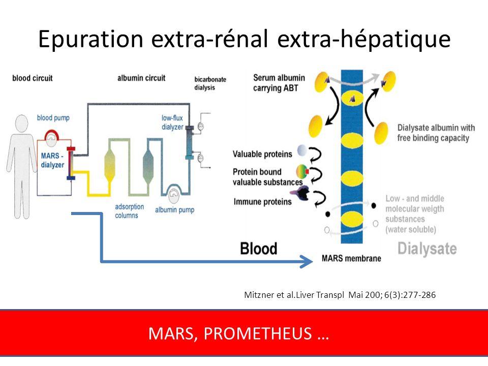 Epuration extra-rénal extra-hépatique