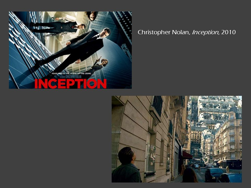 Christopher Nolan, Inception, 2010