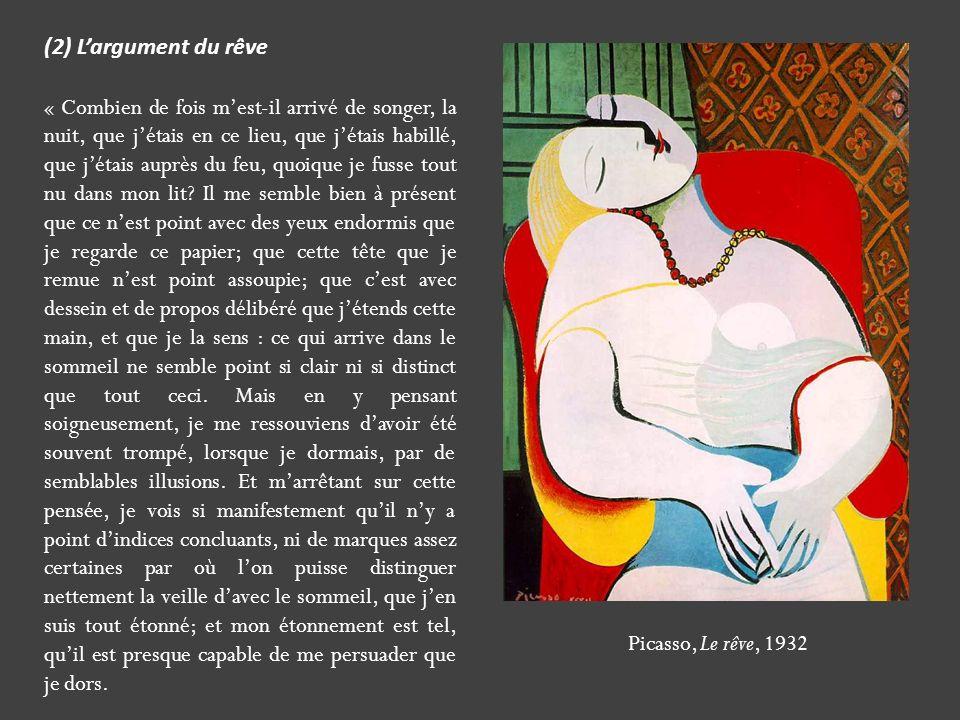 (2) L'argument du rêve