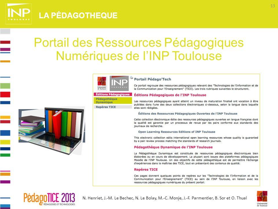 Portail des Ressources Pédagogiques Numériques de l'INP Toulouse