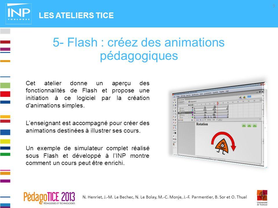 5- Flash : créez des animations pédagogiques