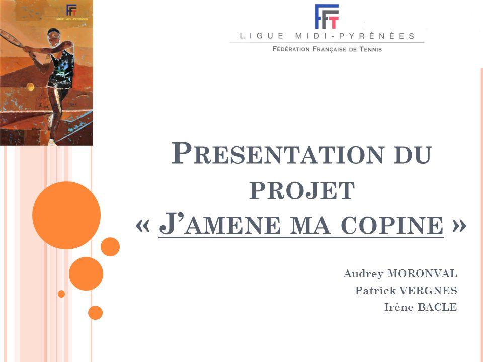 Presentation du projet « J'amene ma copine »