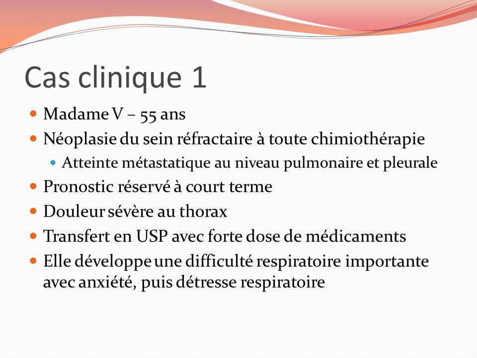 Cas clinique 1 Madame V – 55 ans