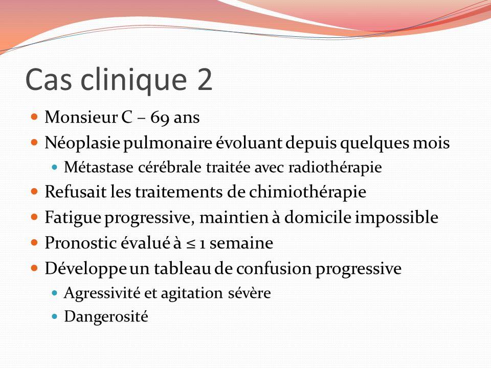 Cas clinique 2 Monsieur C – 69 ans