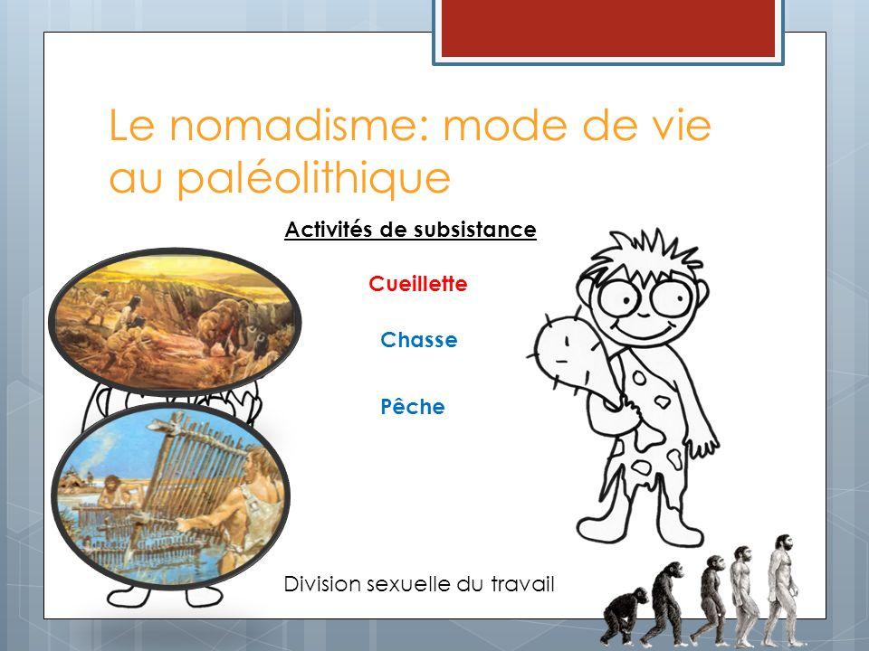 Le nomadisme: mode de vie au paléolithique