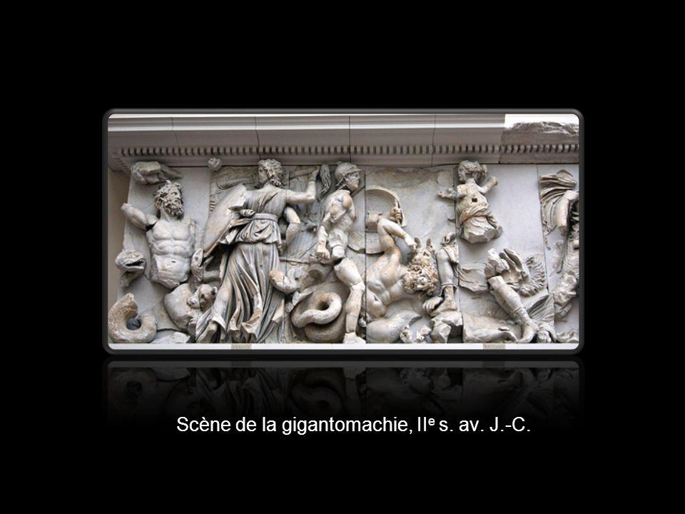 Scène de la gigantomachie, IIe s. av. J.-C.