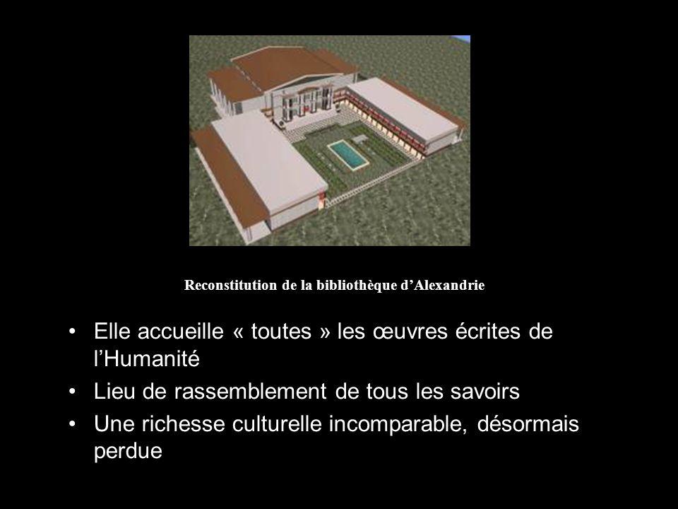Reconstitution de la bibliothèque d'Alexandrie
