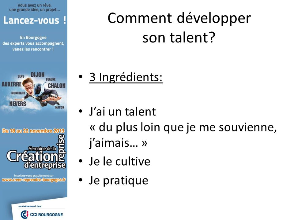 Comment développer son talent