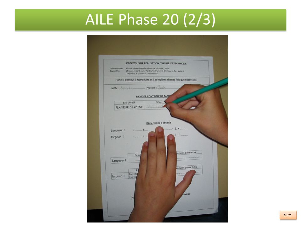 AILE Phase 20 (2/3) suite