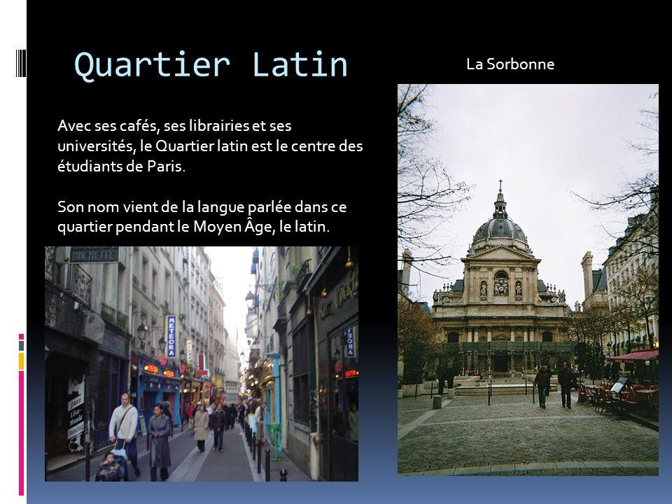 Quartier Latin La Sorbonne