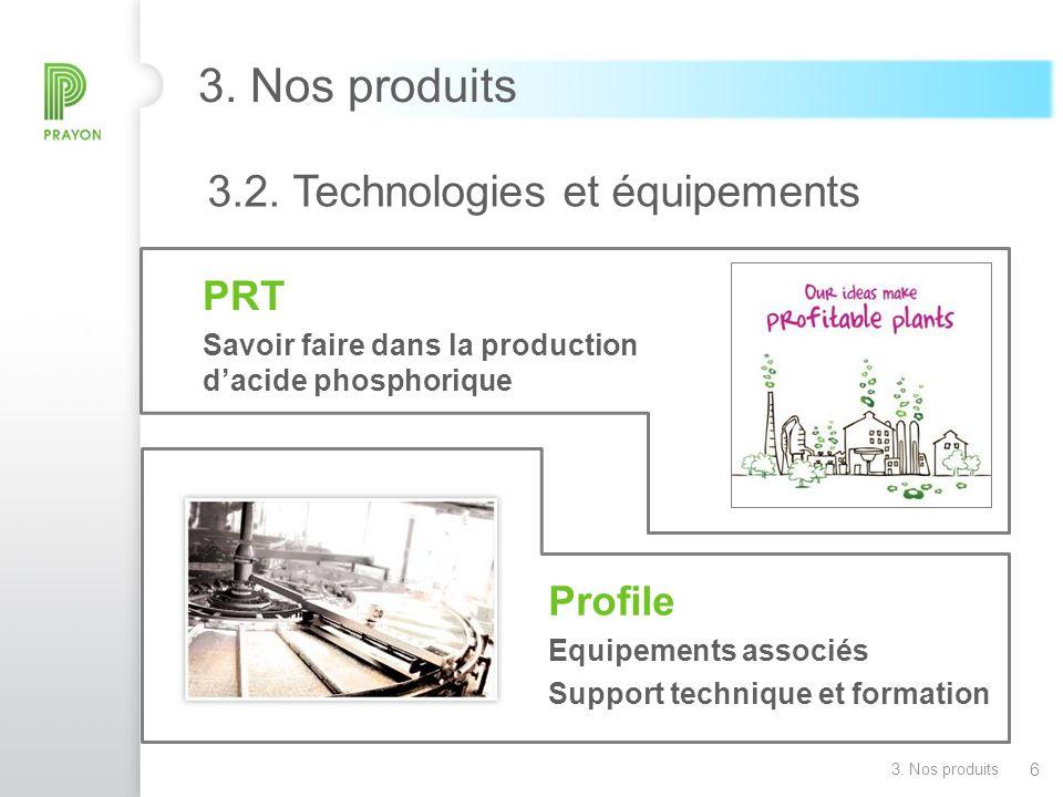 3. Nos produits PRT Profile