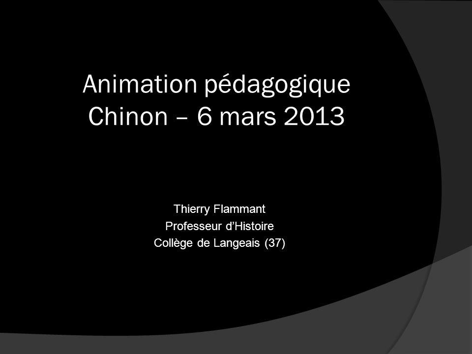 Animation pédagogique Chinon – 6 mars 2013