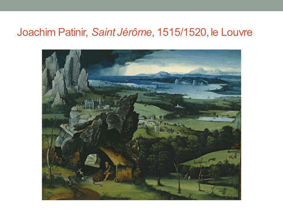 Joachim Patinir, Saint Jérôme, 1515/1520, le Louvre