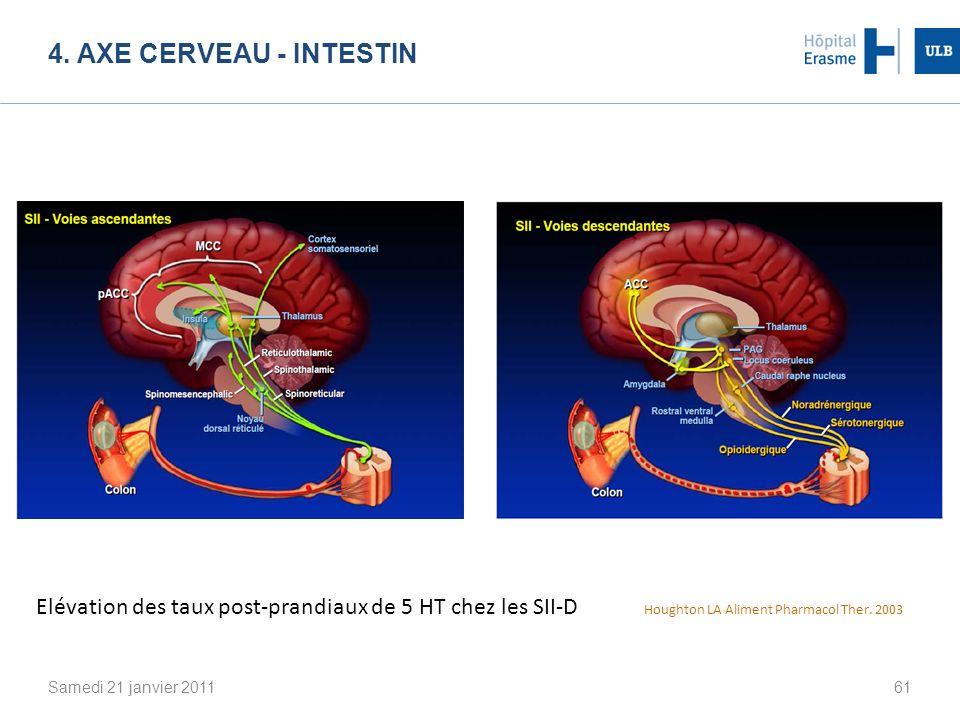 4. Axe cerveau - intestin