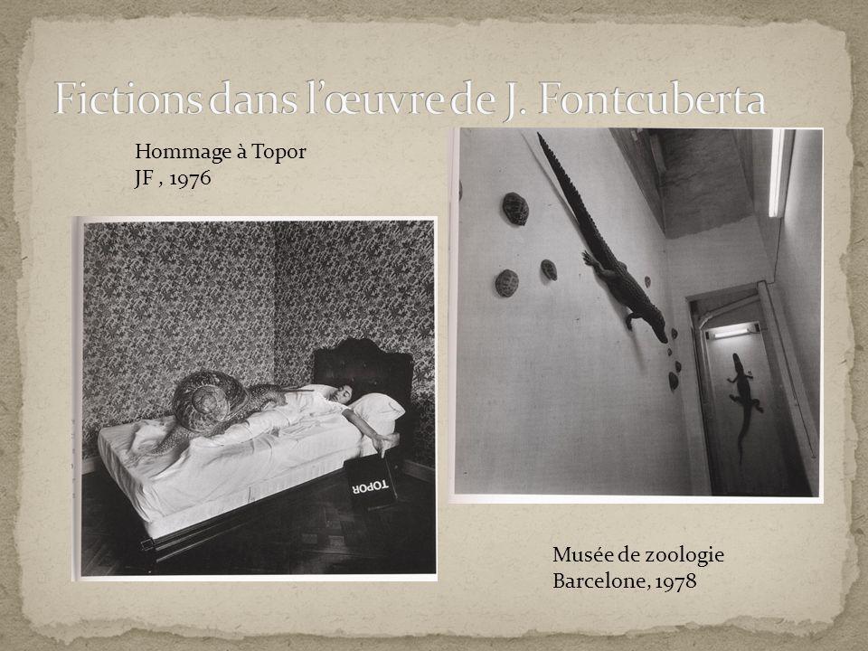 Fictions dans l'œuvre de J. Fontcuberta