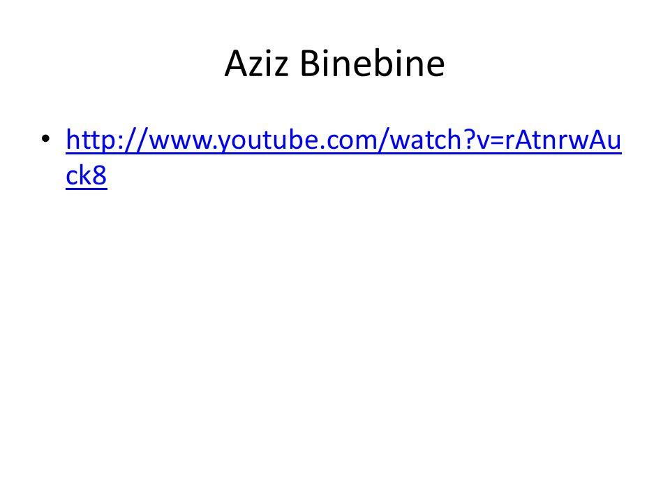 Aziz Binebine http://www.youtube.com/watch v=rAtnrwAuck8