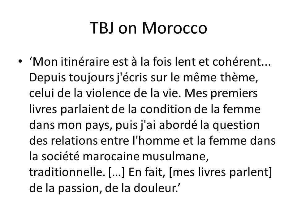 TBJ on Morocco
