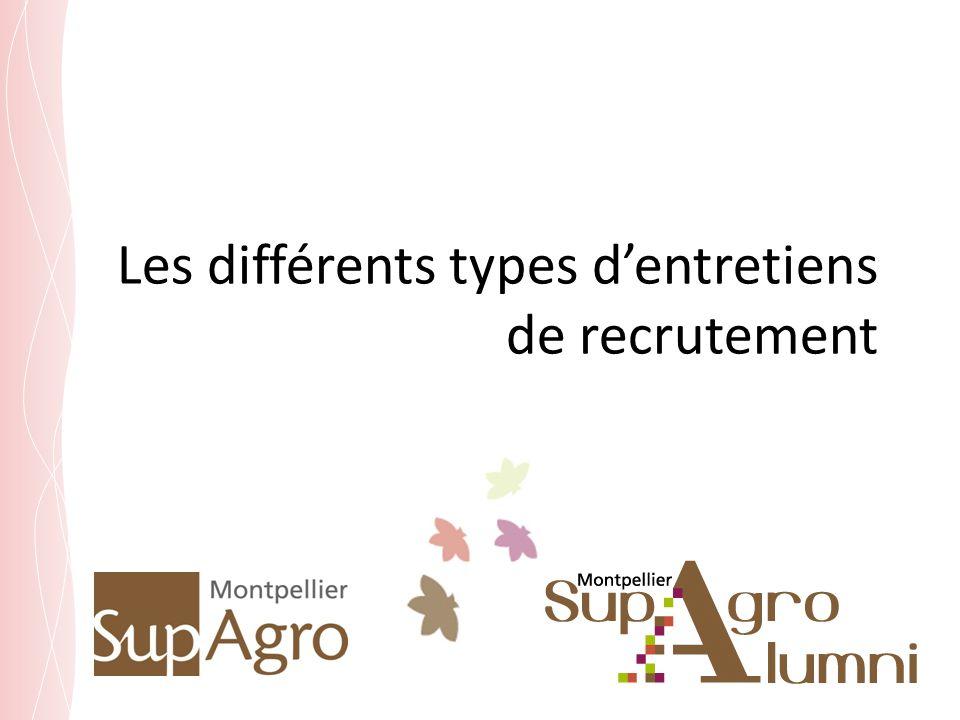 Les différents types d'entretiens de recrutement
