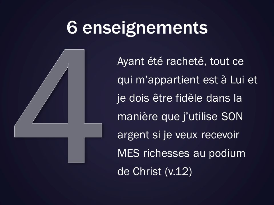 4 6 enseignements.