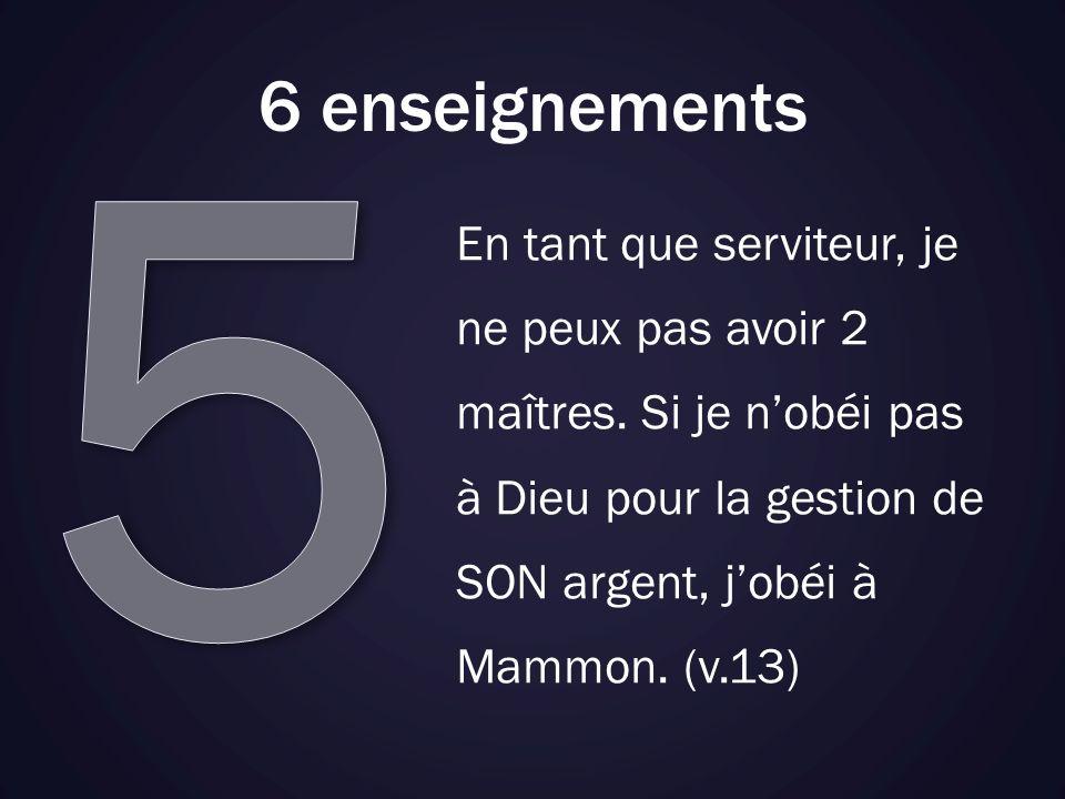 5 6 enseignements.