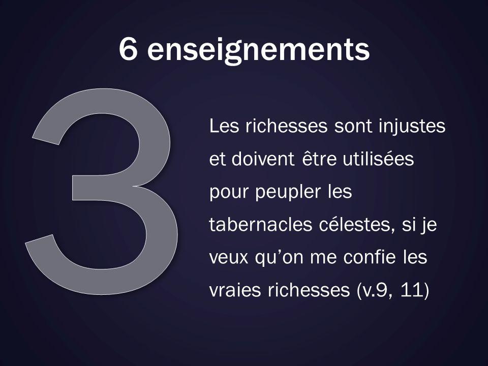 3 6 enseignements.