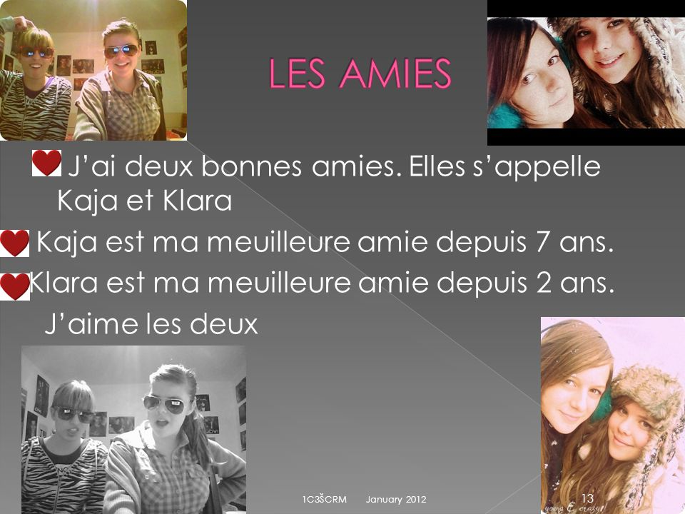 LES AMIES