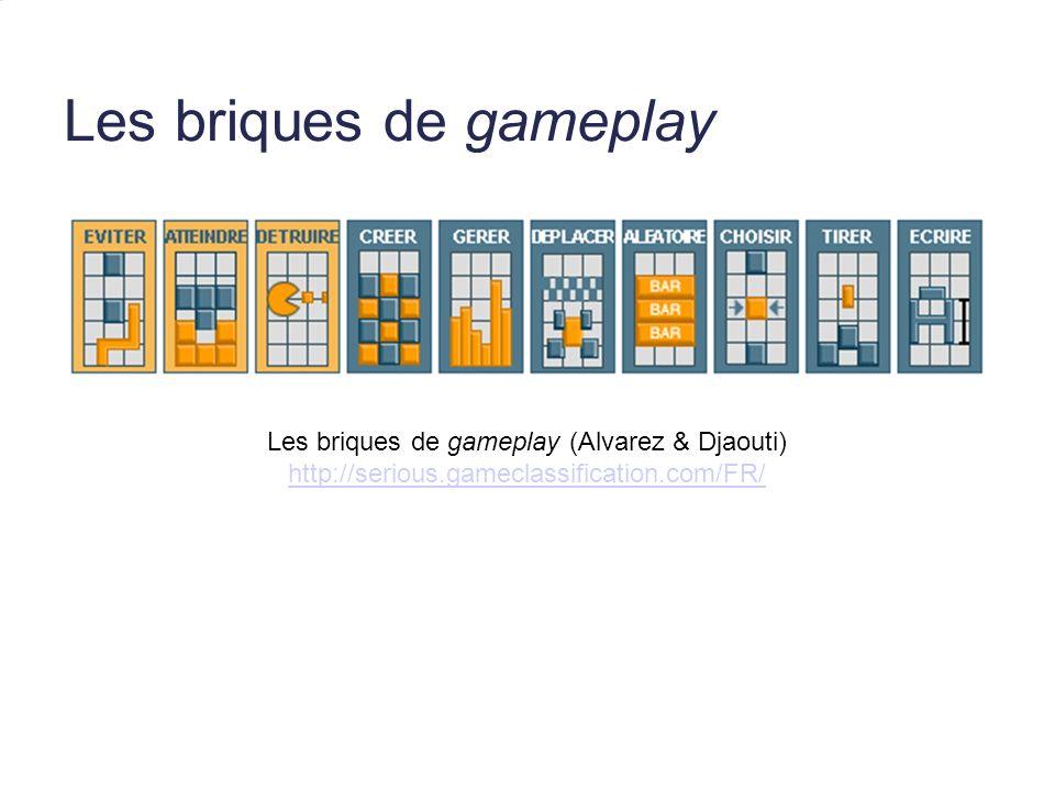 Les briques de gameplay