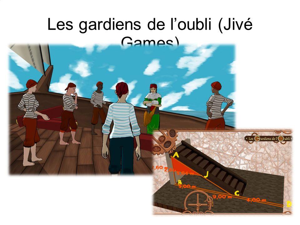 Les gardiens de l'oubli (Jivé Games)