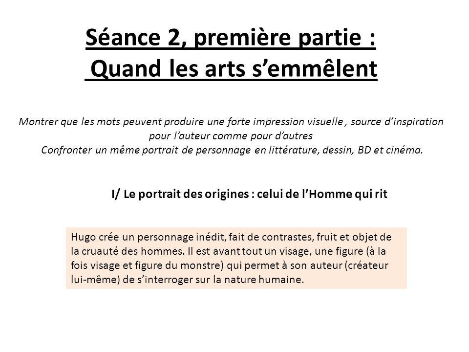 Séance 2, première partie : Quand les arts s'emmêlent