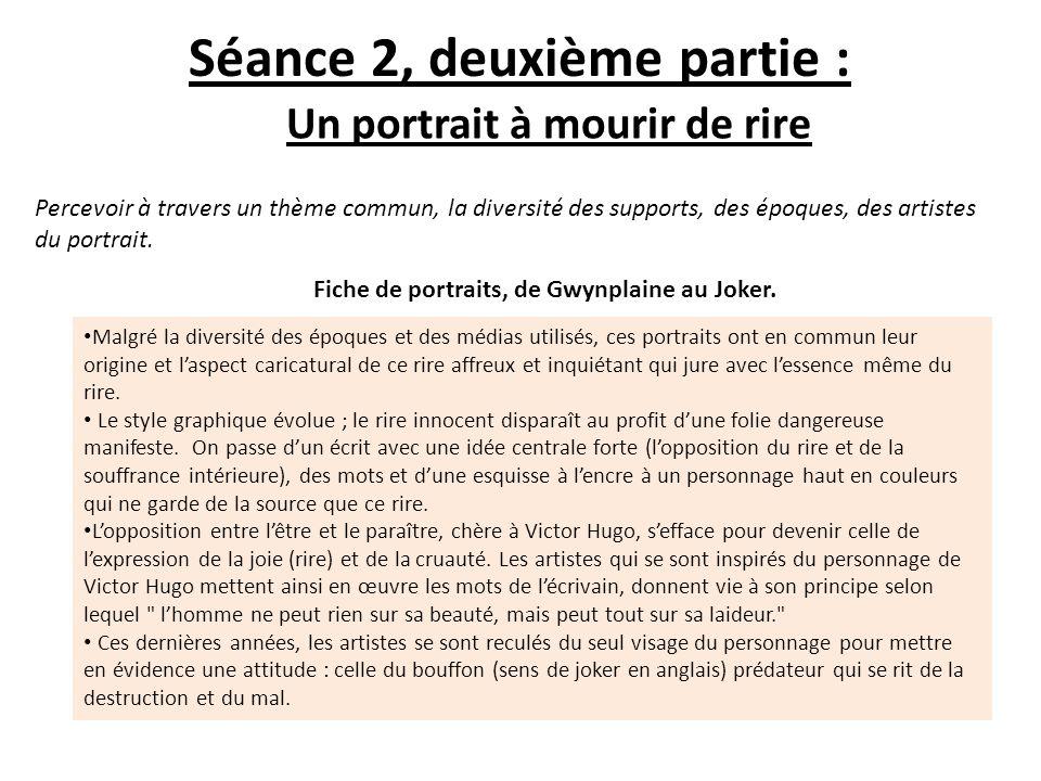 Séance 2, deuxième partie :
