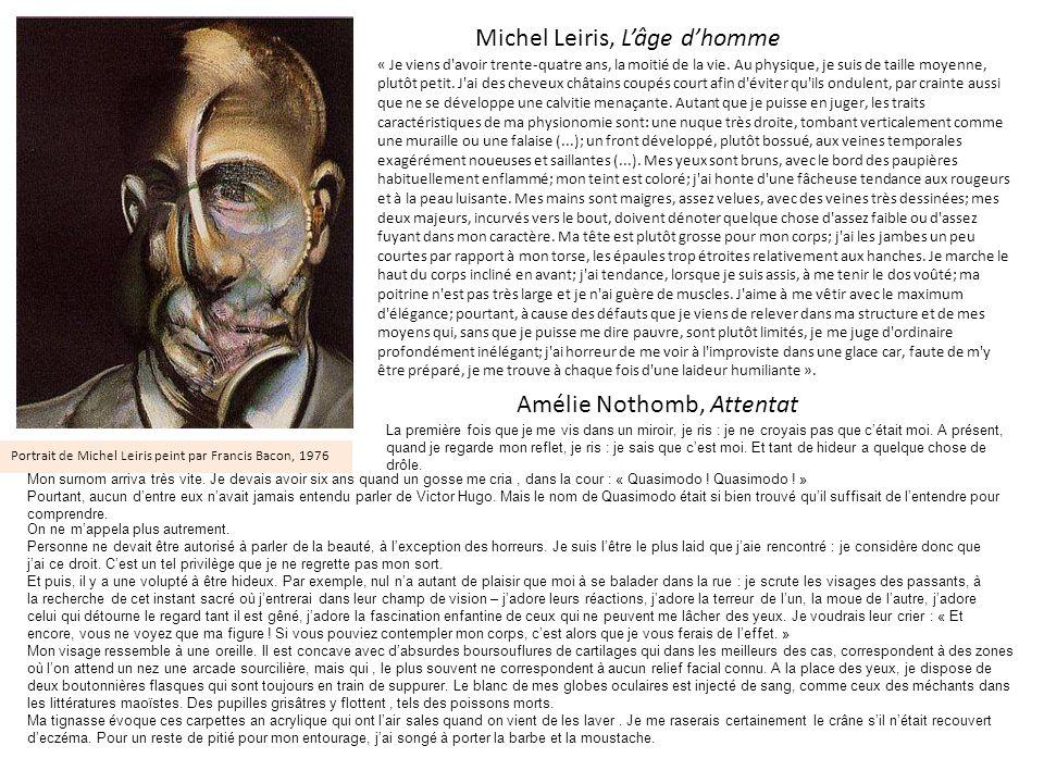 Michel Leiris, L'âge d'homme
