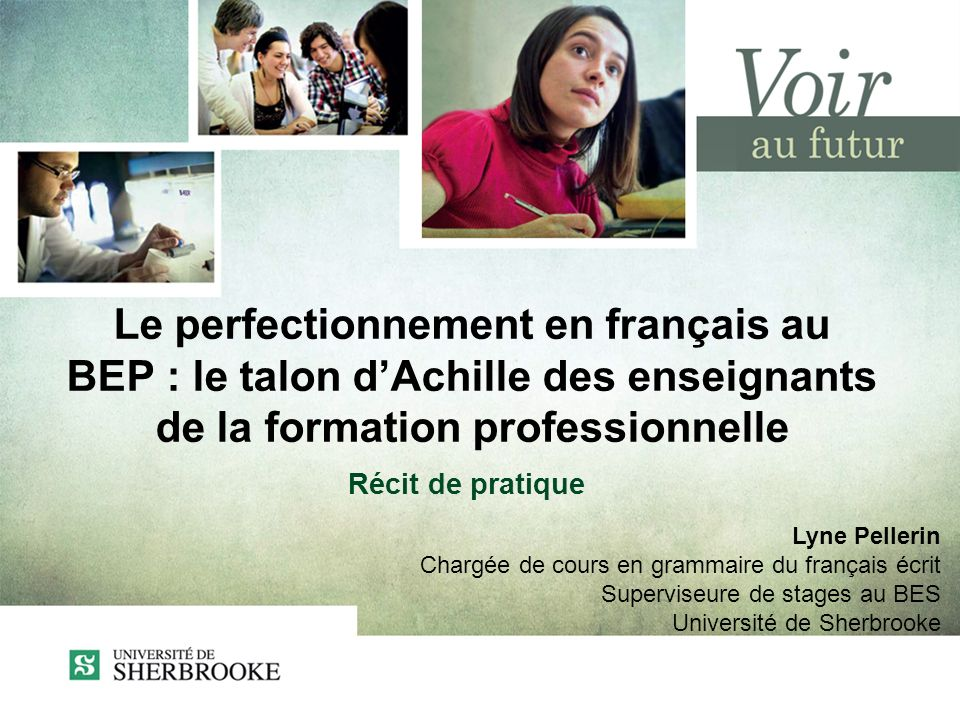 Le perfectionnement en français au BEP : le talon d'Achille des enseignants de la formation professionnelle