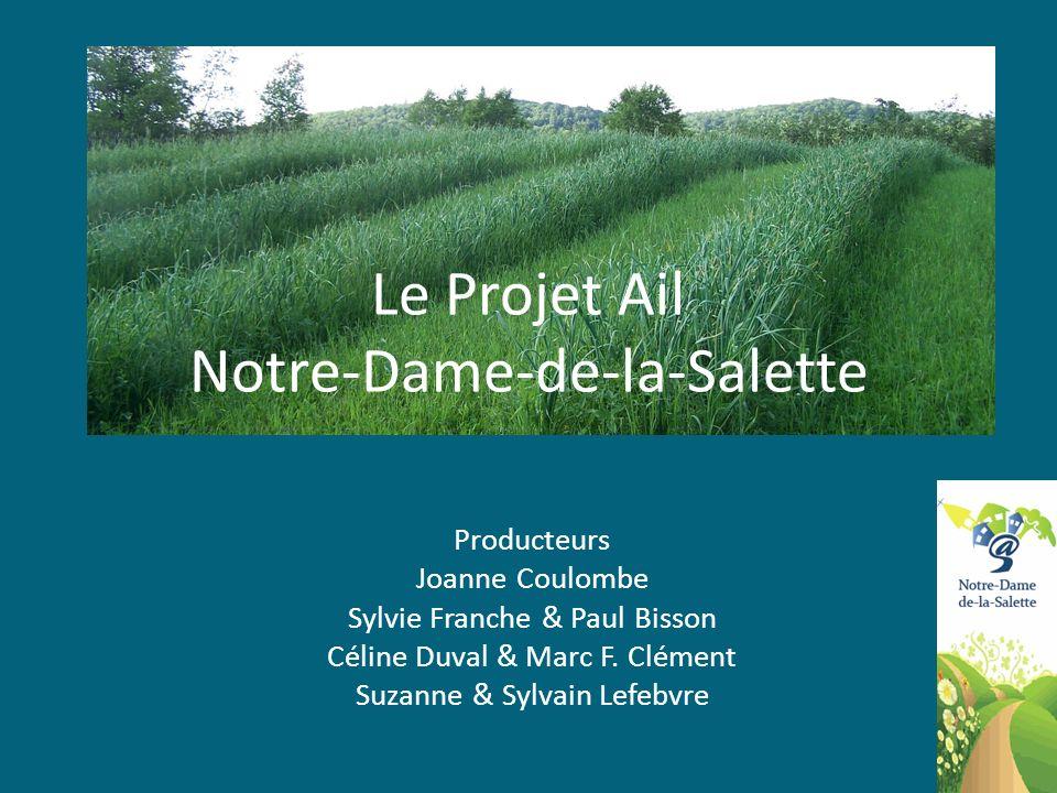 Le Projet Ail Notre-Dame-de-la-Salette
