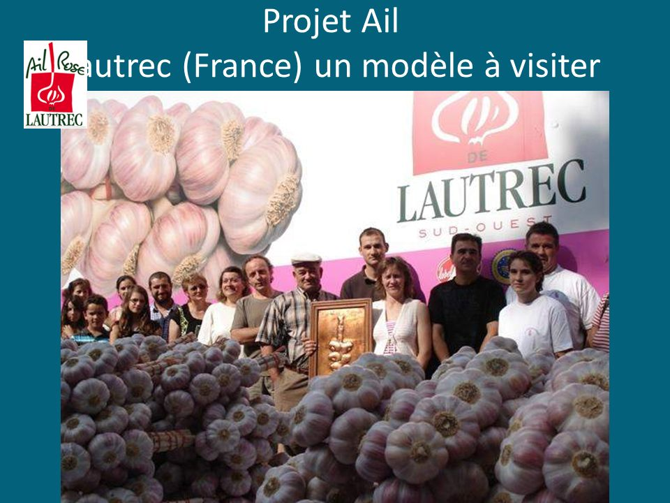 Projet Ail Lautrec (France) un modèle à visiter