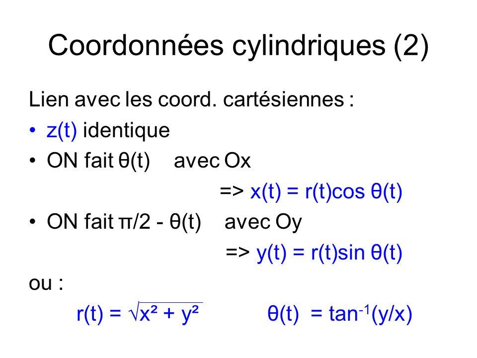 Coordonnées cylindriques (2)