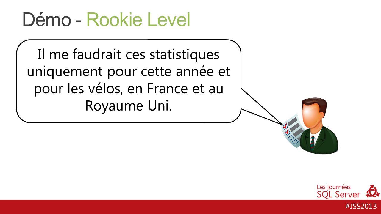 Démo - Rookie Level Il me faudrait ces statistiques uniquement pour cette année et pour les vélos, en France et au Royaume Uni.