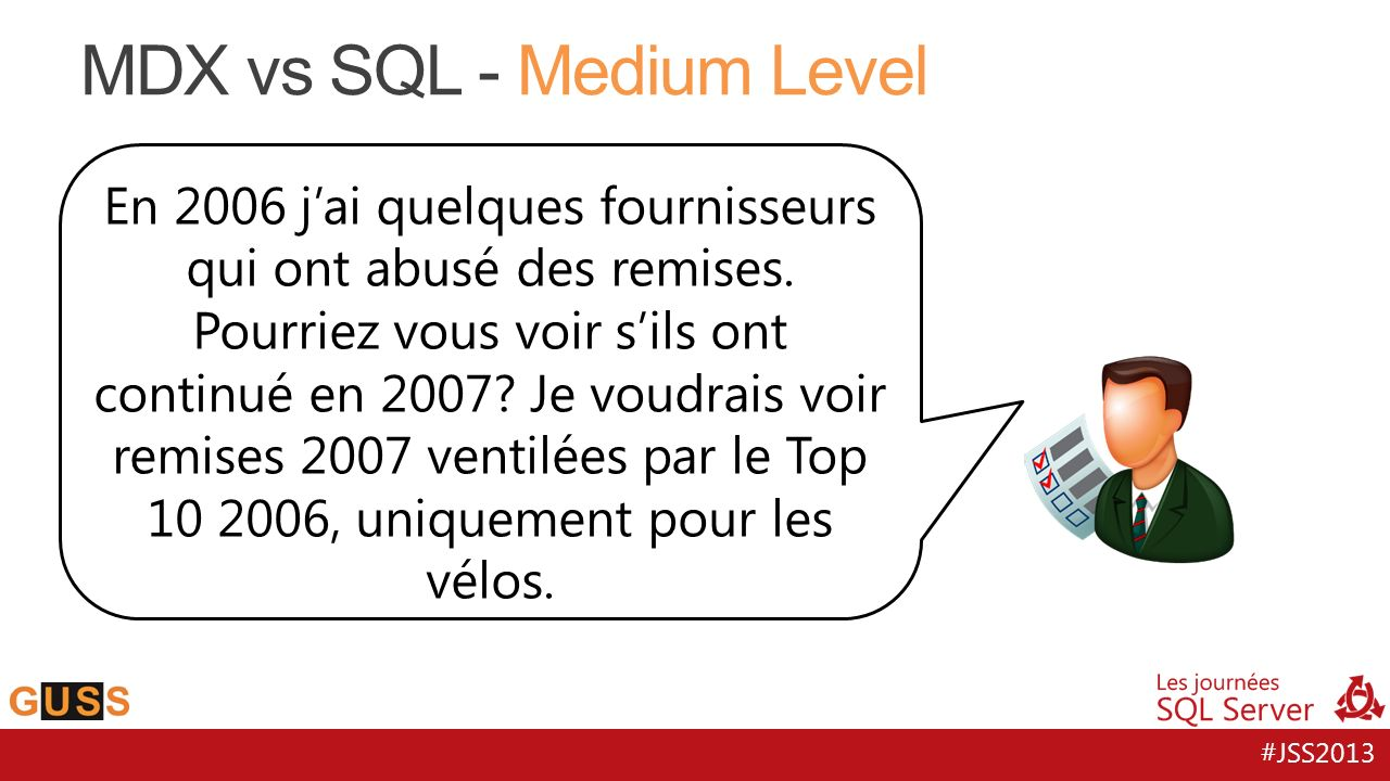 MDX vs SQL - Medium Level