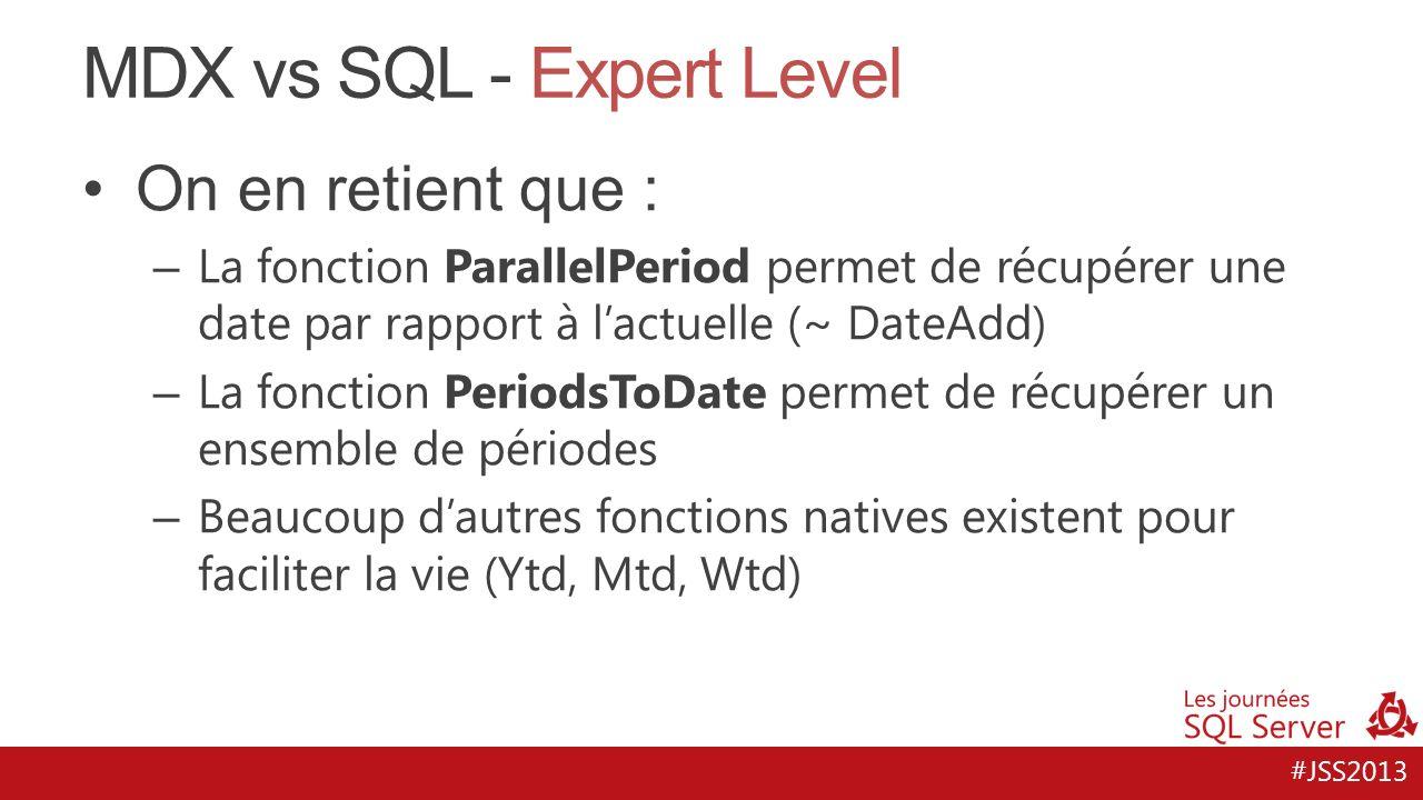 MDX vs SQL - Expert Level