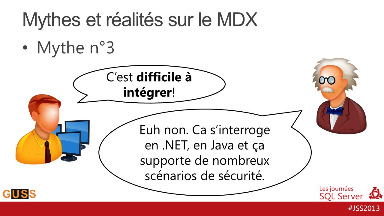 Mythes et réalités sur le MDX