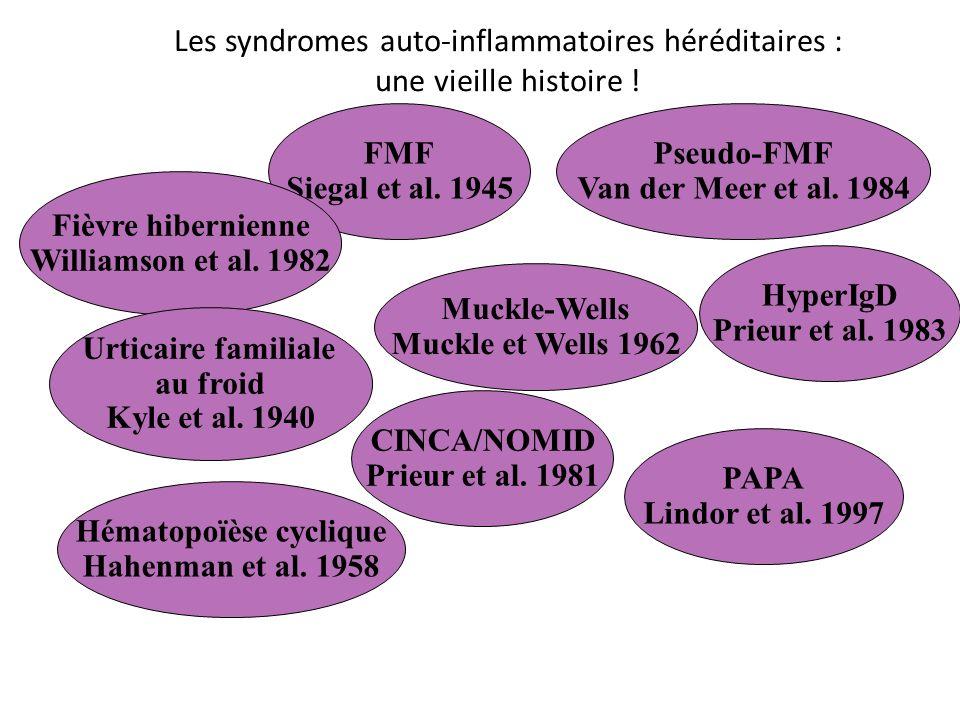 Les syndromes auto-inflammatoires héréditaires : une vieille histoire !