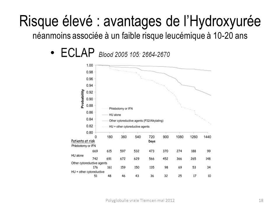 Polyglobulie vraie Tlemcen mai 2012