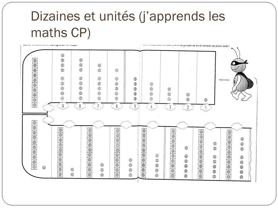 Dizaines et unités (j'apprends les maths CP)