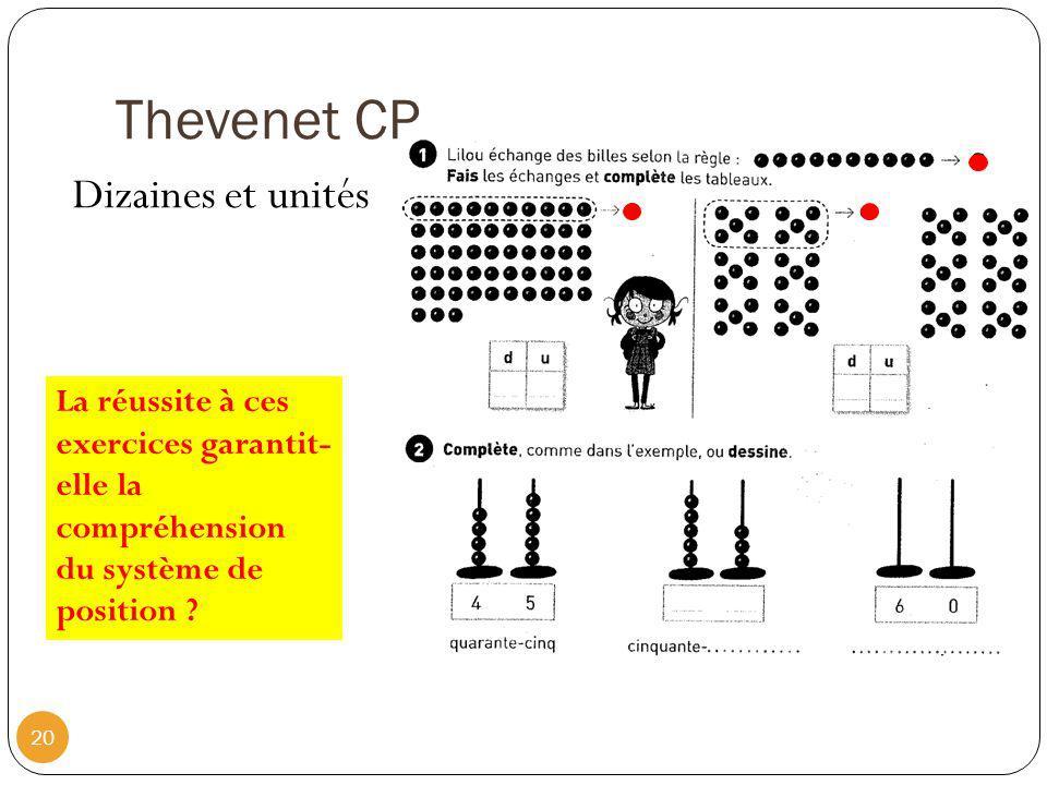 Thevenet CP Dizaines et unités